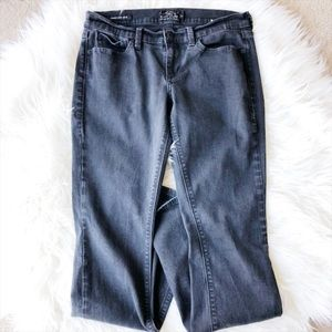Lucky Brand Black Charlie Baby Boot Jeans